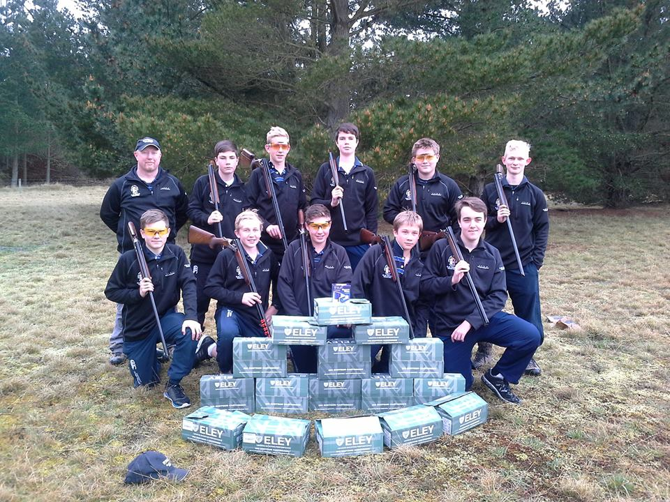 Our senior shooters at the Nationals in Christchurch