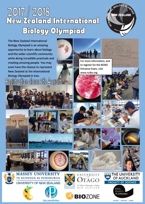 STRATUS: NZ International Biology Olympiad
